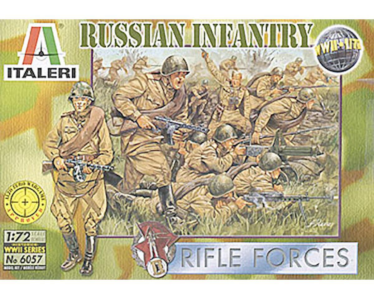 Italeri Models 1/72 Russian Infantry WWII