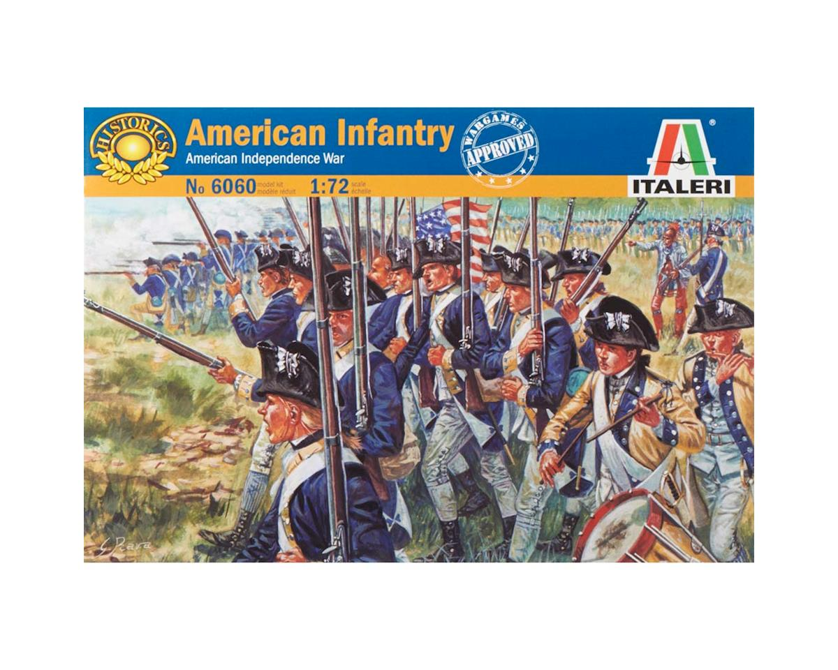 Italeri Models 1/72 American Revolution Infantry Set