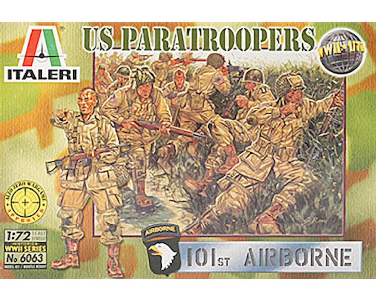 Italeri Models 1/72 U.S. WWII Paratroopers