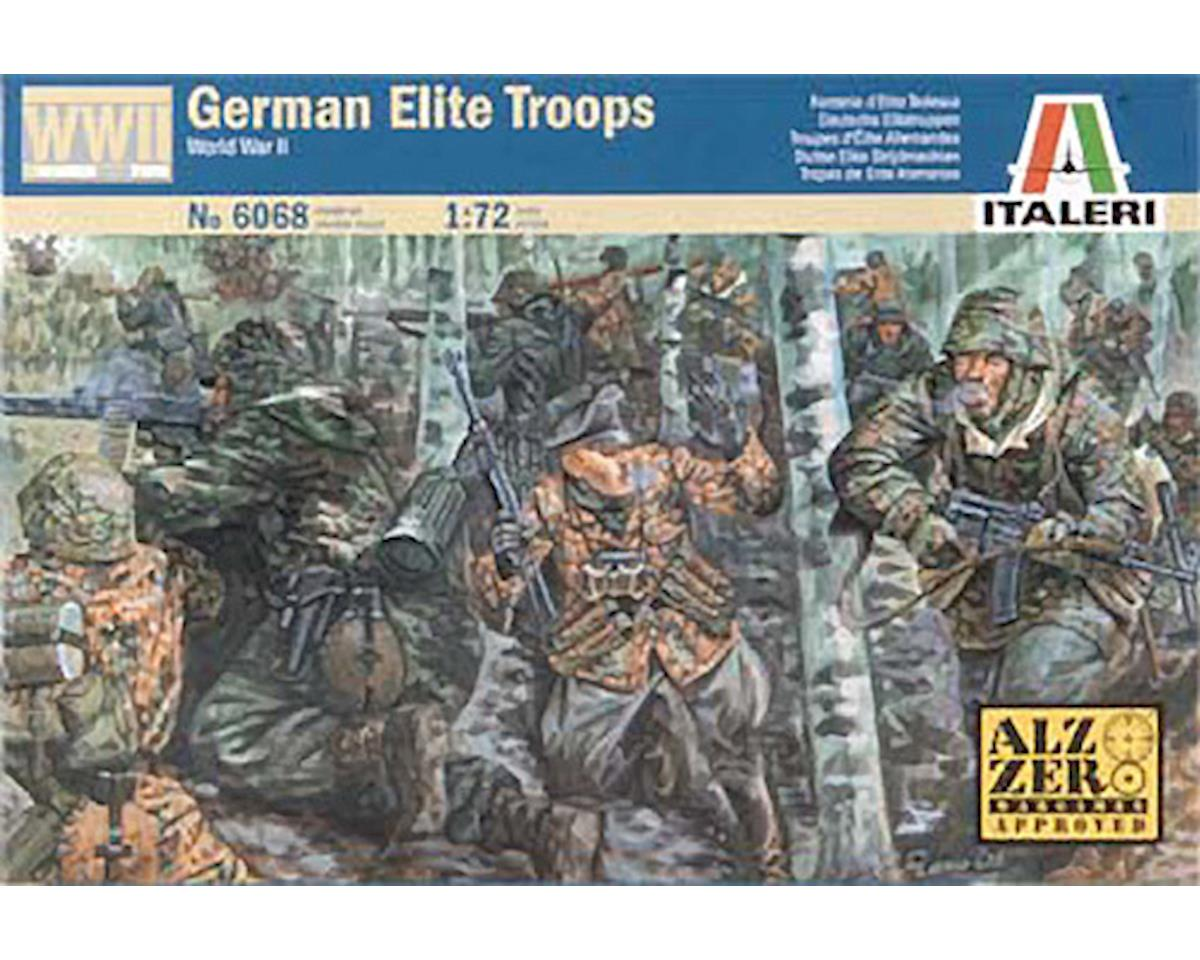 1/72 WWII German Elite Troops by Italeri Models
