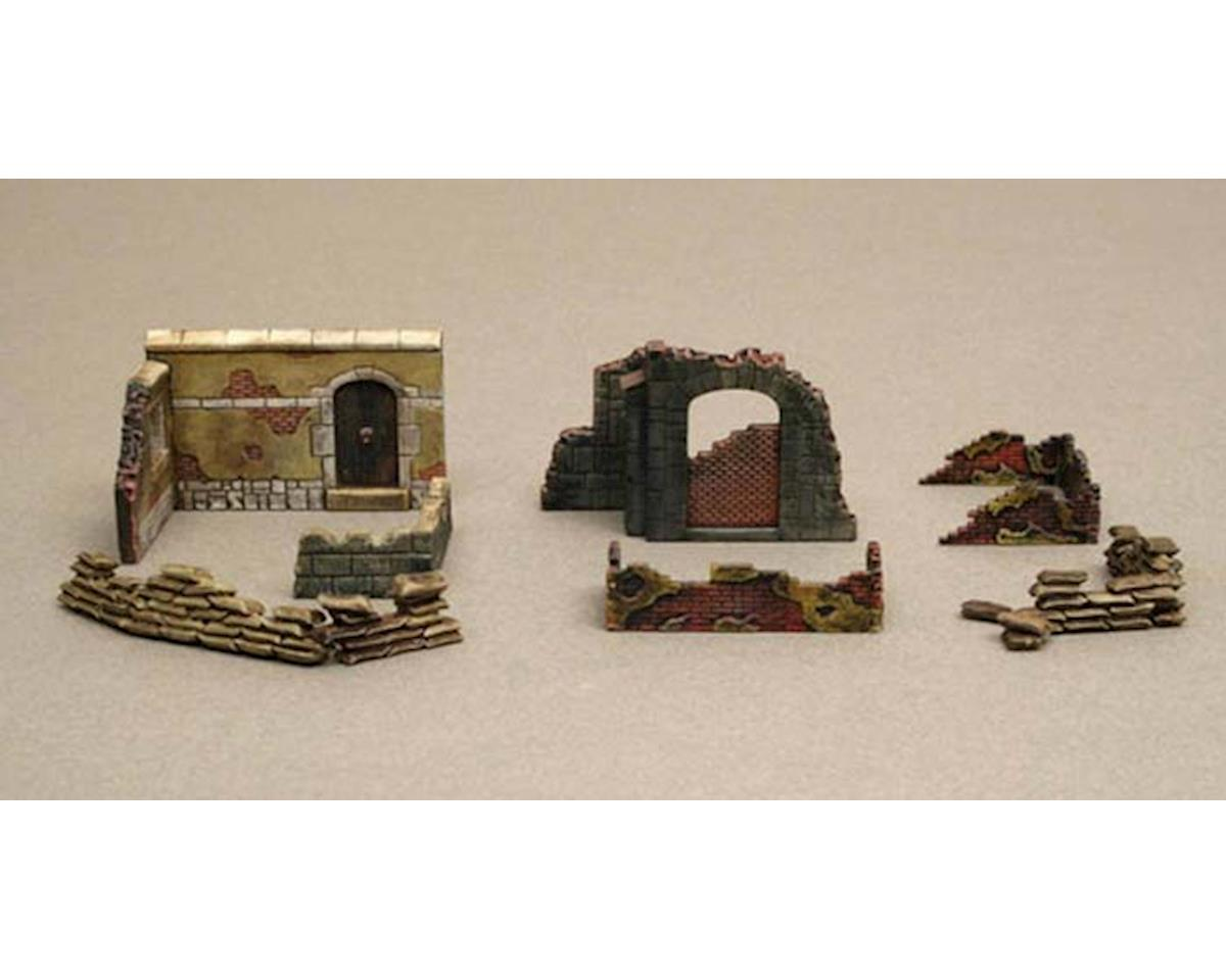 Italeri Models 1/72 Walls And Ruins II