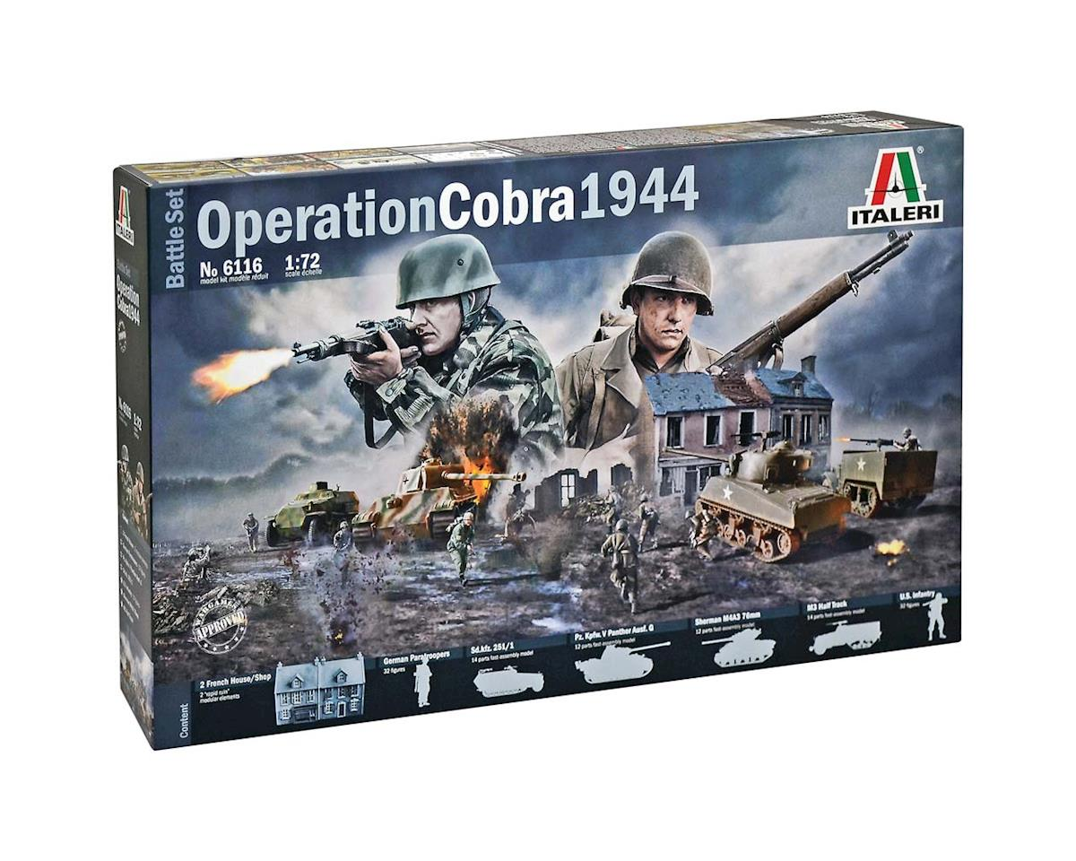 Italeri Models 1/72 Operation Cobra Battle Set