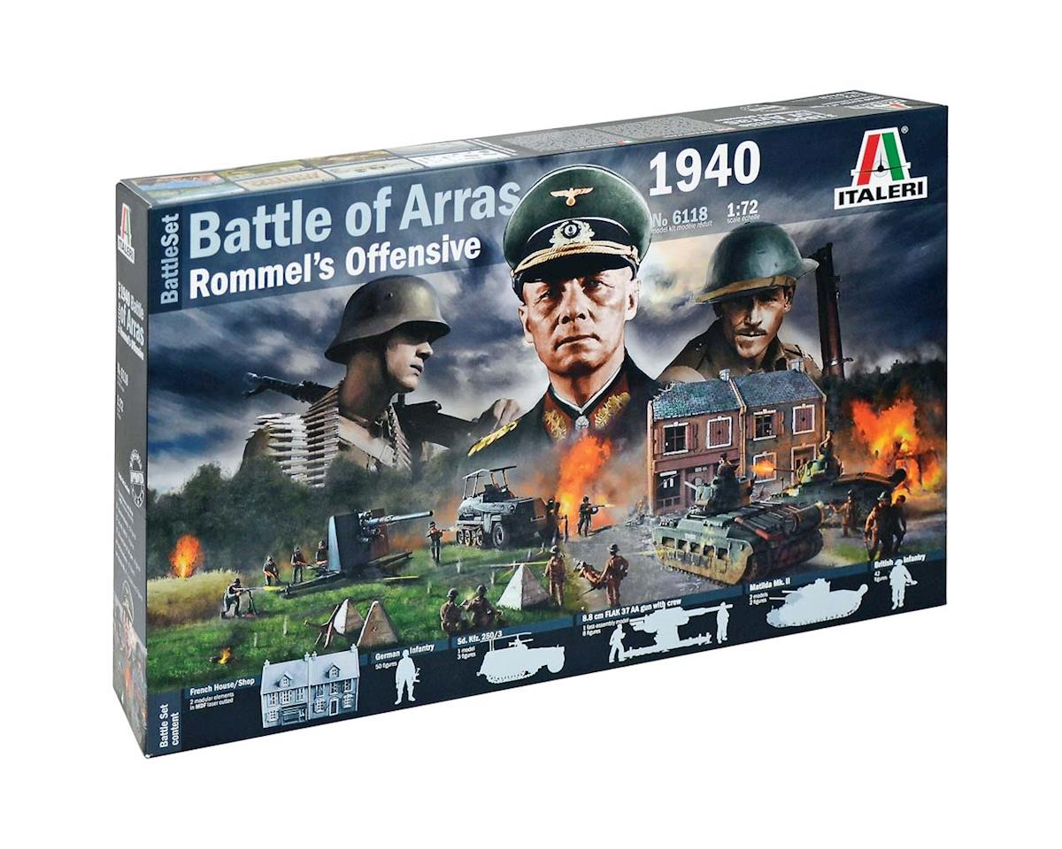 Italeri Models 1/72 WWII Battle Set: 1940 Battle of Arras