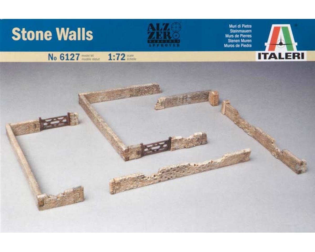 Italeri Models 1/72 Walls & Fences