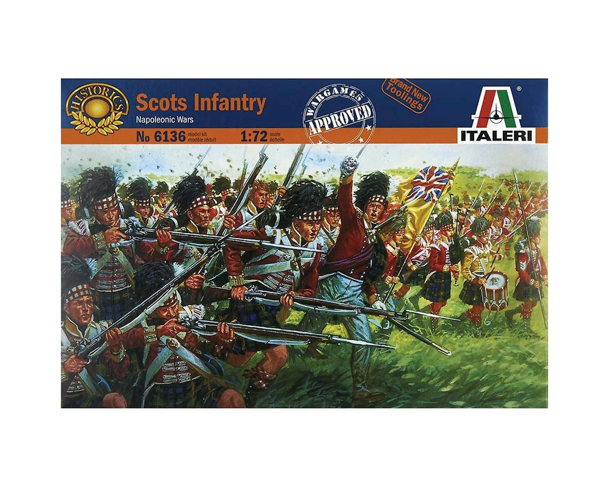 Italeri Models 1/72 Scottish Infantry