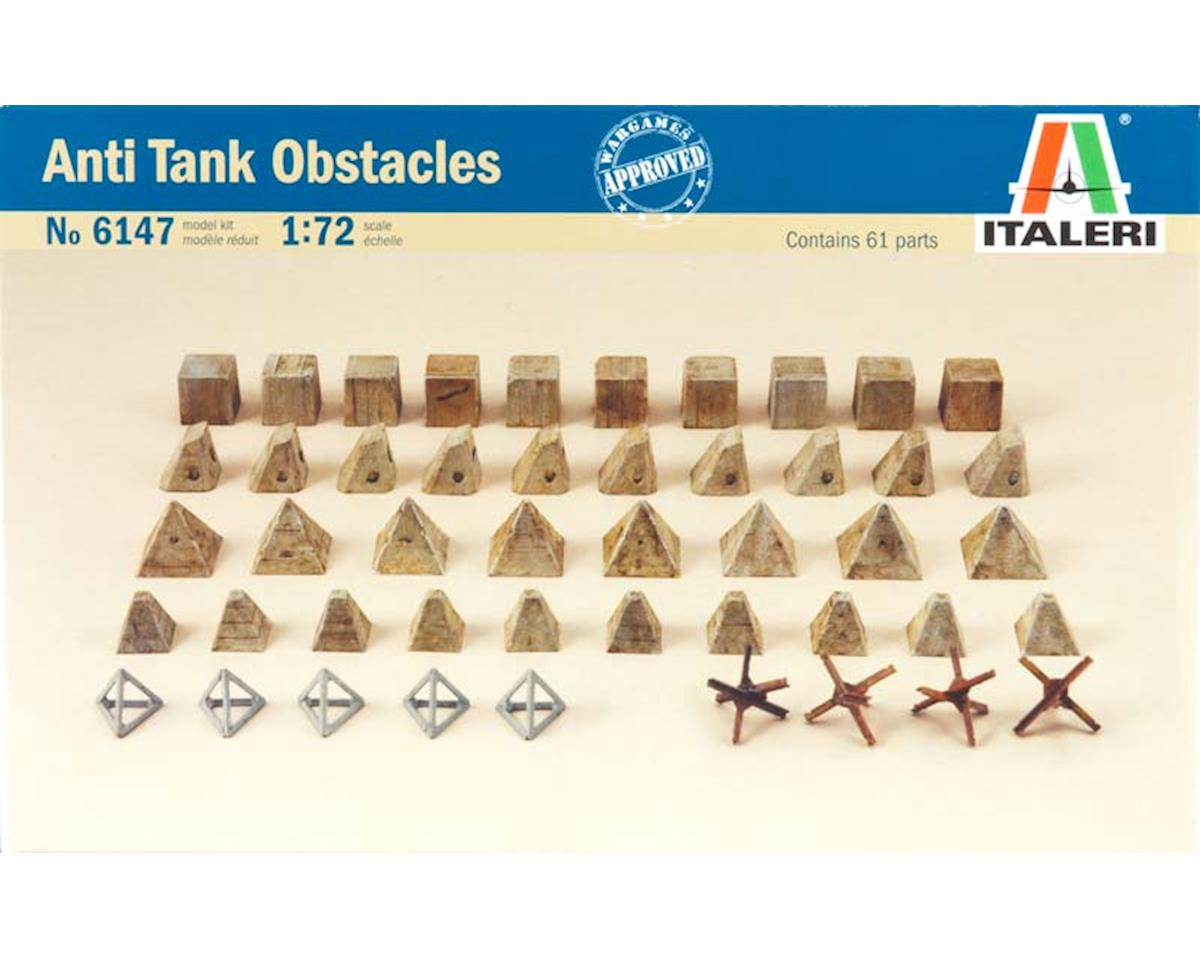 Italeri Models 1/72 Antitank Obstacles