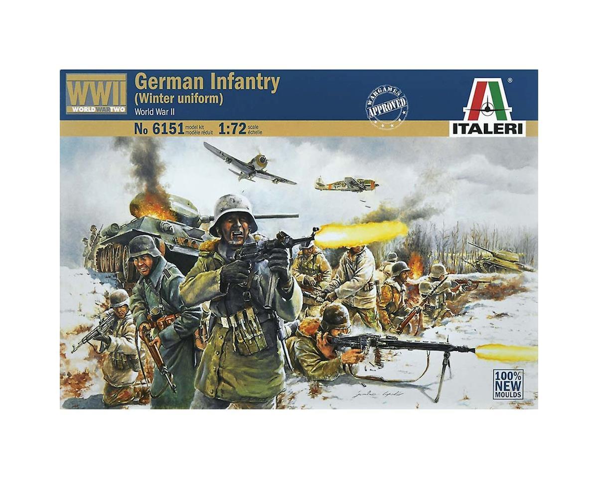 1/72 German Infantry (Winter Uniform) by Italeri Models