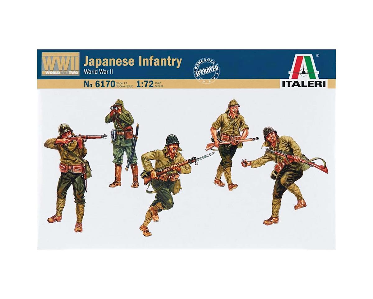 Italeri Models 1/72 WWII Japanese Infantry