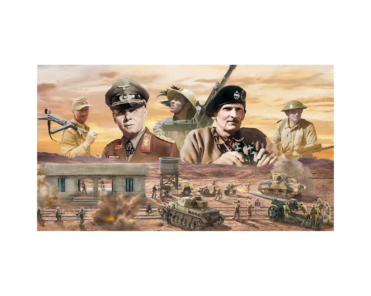 Italeri Models 1/72 El Alamein Battle Railway Station Diorama