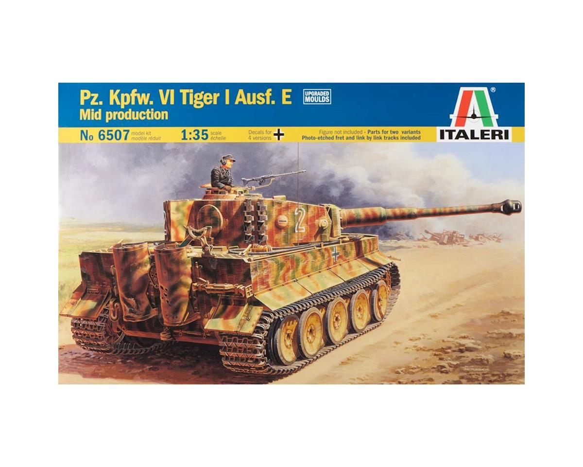 1/35 WWII German Pz.Kpfw.VI Tiger I Ausf.E by Italeri Models