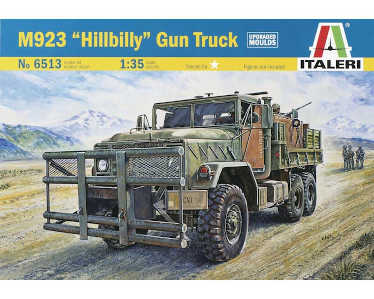 1/35 M923 Hillbilly Military Gun Truck by Italeri Models