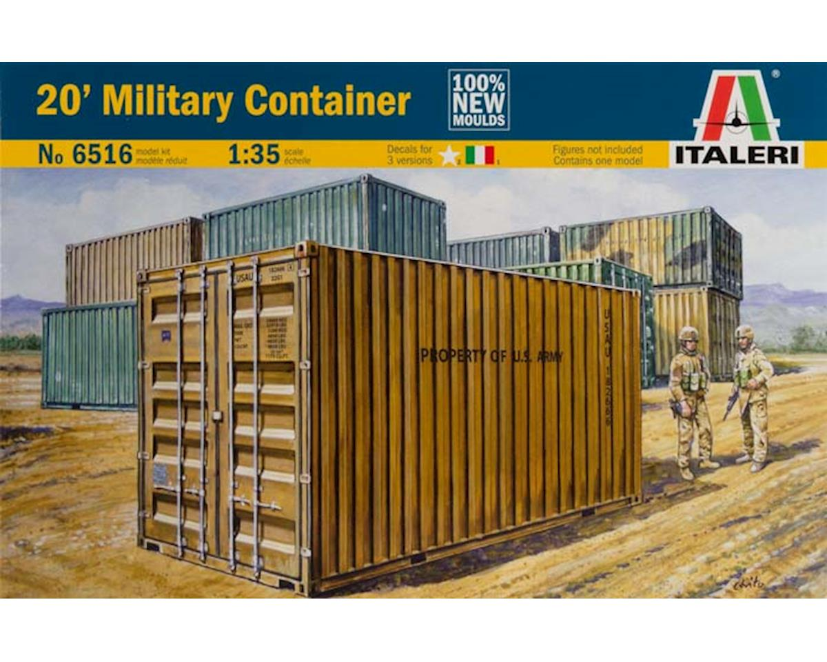 Italeri Models 1/35 20' Military Container