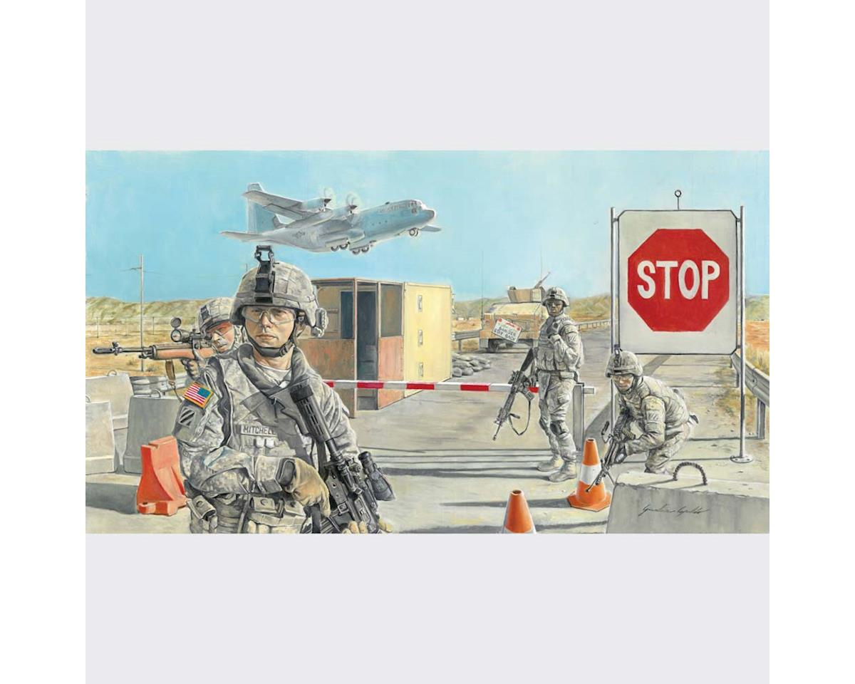 Italeri Models 1/35 RoadBlock w/US Soldiers