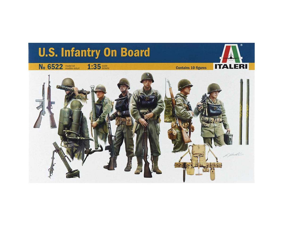 1/35 Us Infantry On Board by Italeri Models
