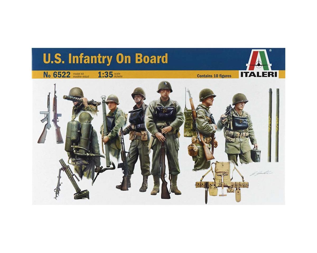 Italeri Models 1/35 Us Infantry On Board