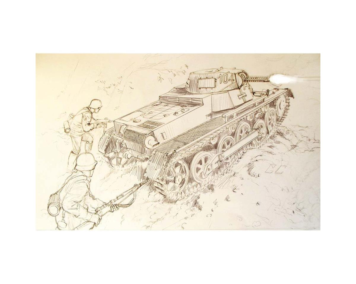 Italeri Models 1/35 Pz.Kpfw.I Ausf.B