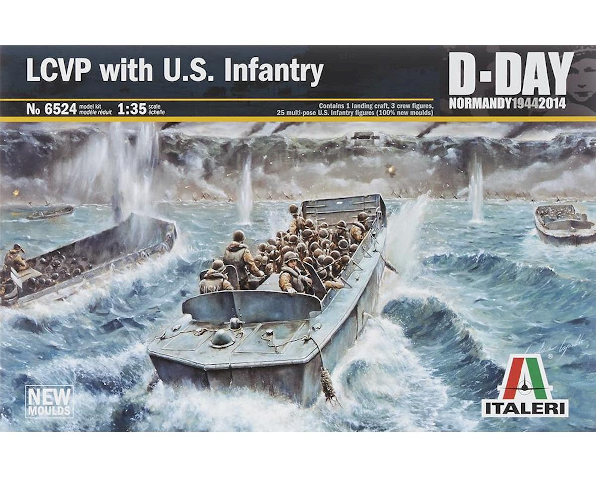 Italeri Models 1/35 LCVP w/US Infantry
