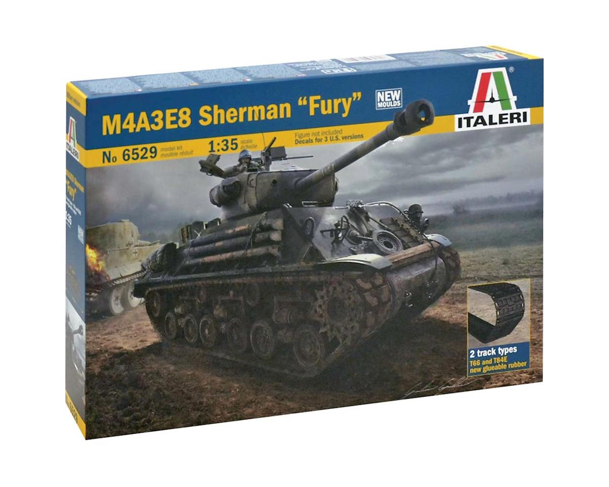 1/35 M4a3e8 Sherman Fury by Italeri Models