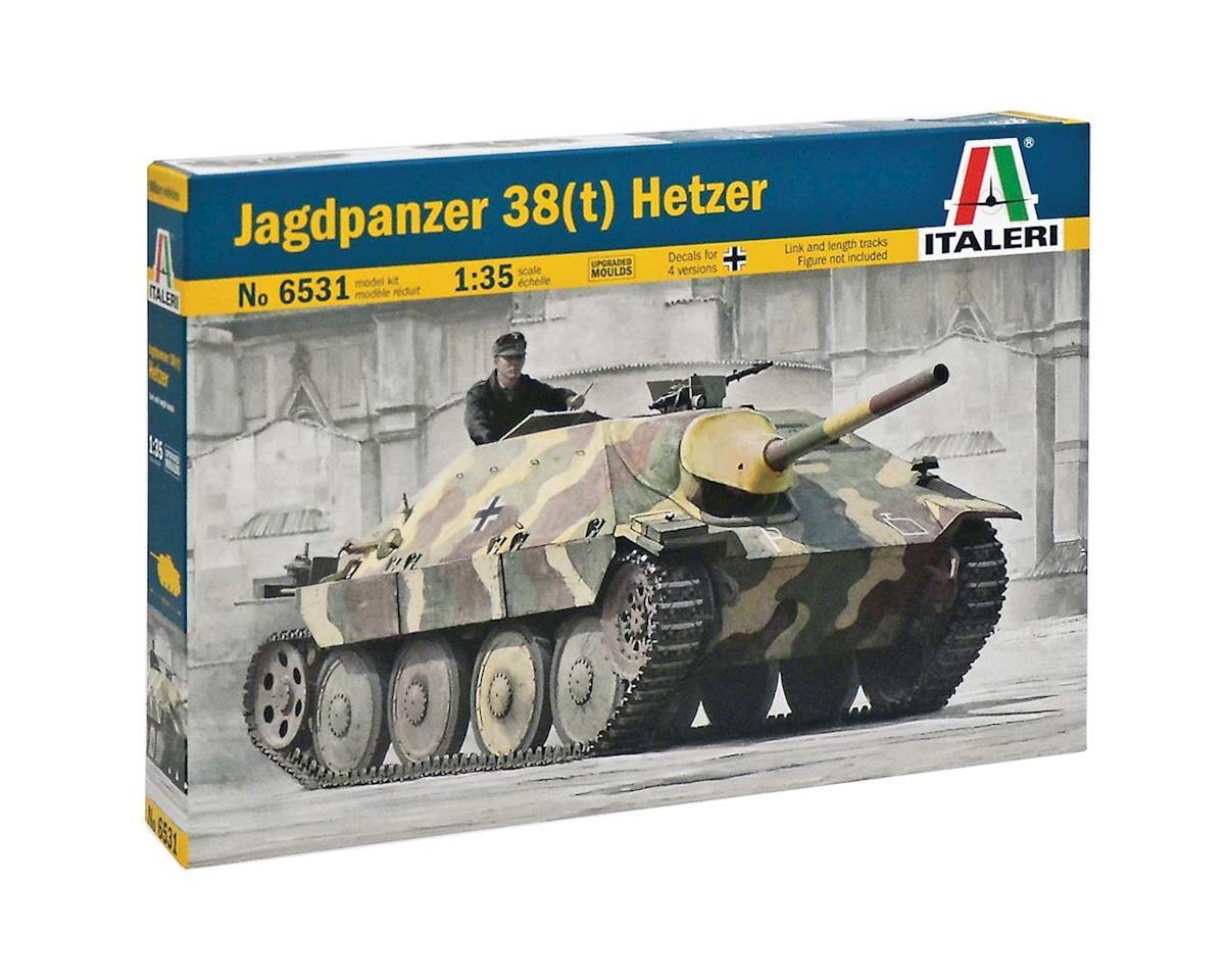 1/35 Jagdpanzer 38(T) Hetzer by Italeri Models