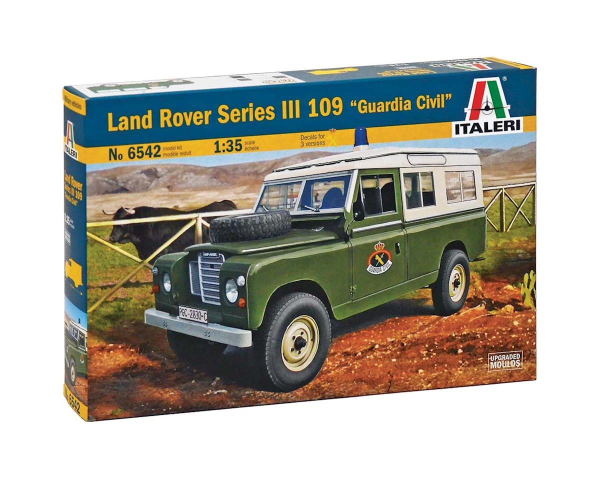 Italeri Models 1/35 Land Rover 109  Guardia Civil