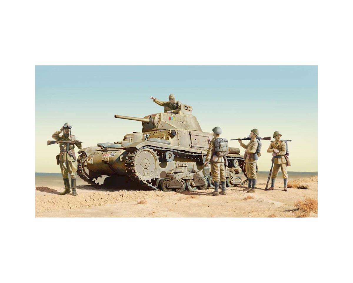 1/35 M14/41 w/Italian Infantry by Italeri Models