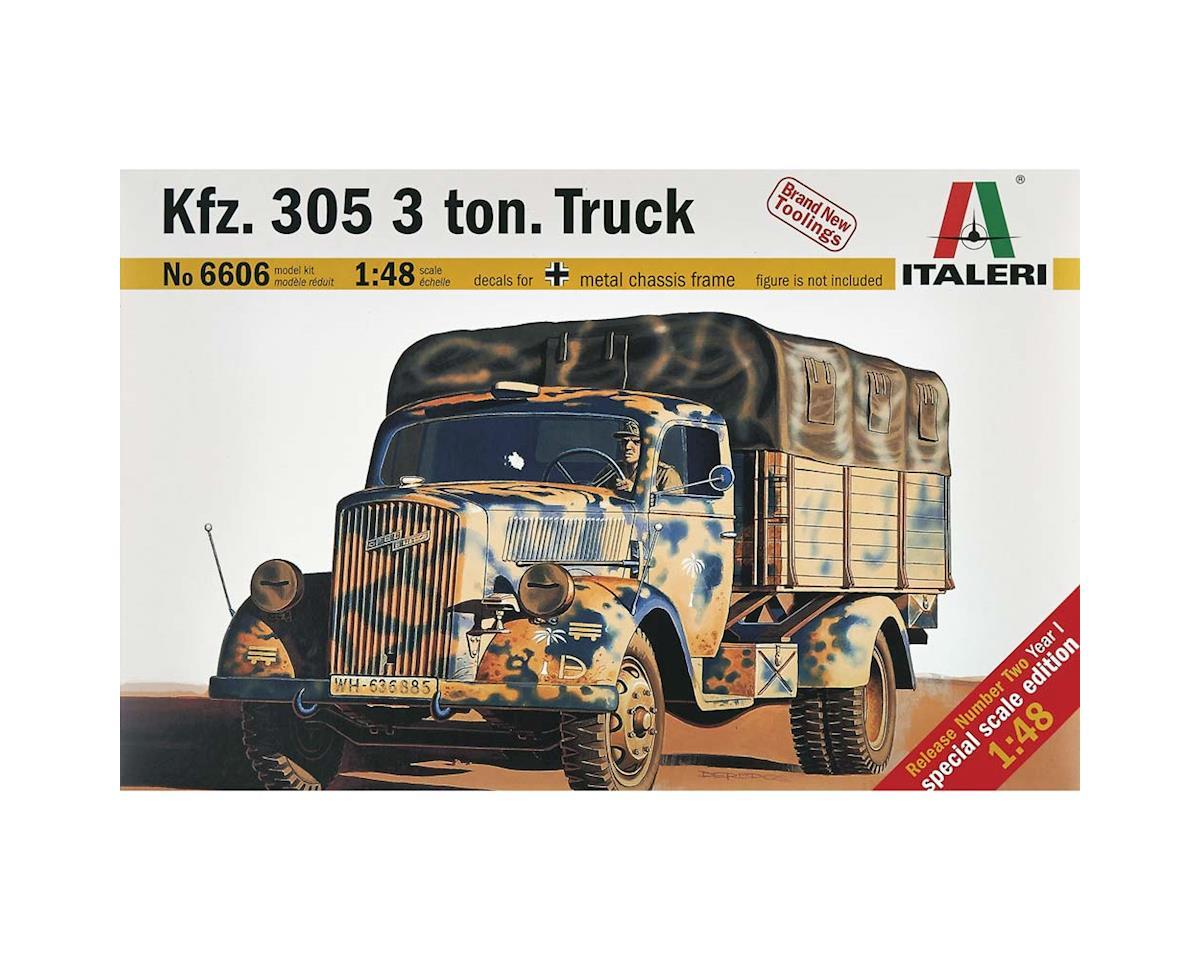 Italeri Models 1/48 WWII German Kfz.305 3-Ton Truck