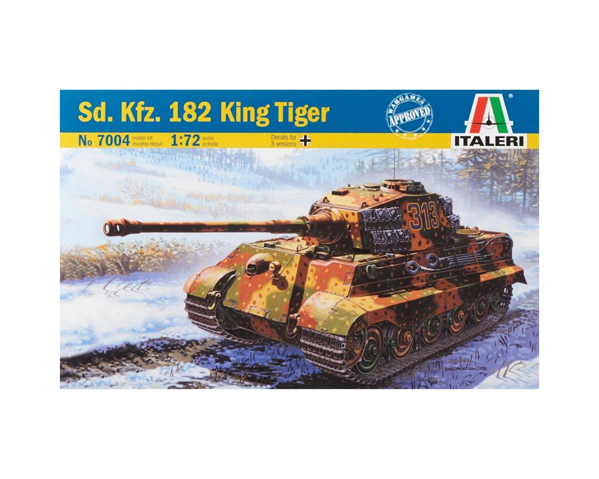 Italeri Models 1/72 WWII German King Tiger
