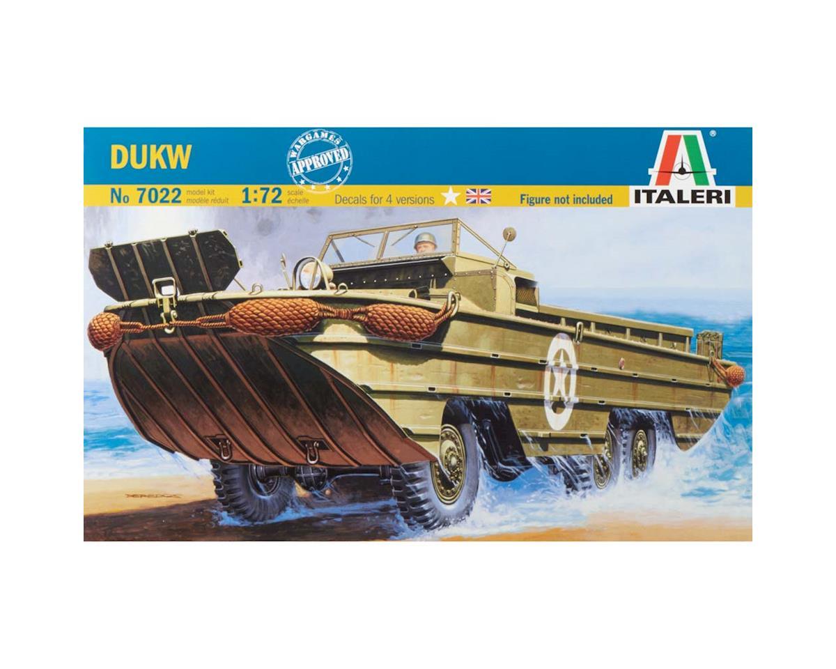 Italeri Models 1/72 WWII DUKW Amphibian Vehicle