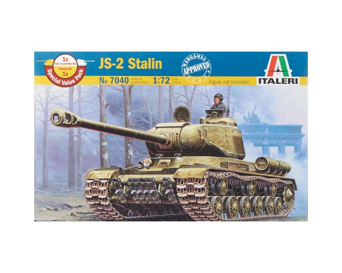 Italeri Models 1/72 WWII Russian JS-2M Stalin