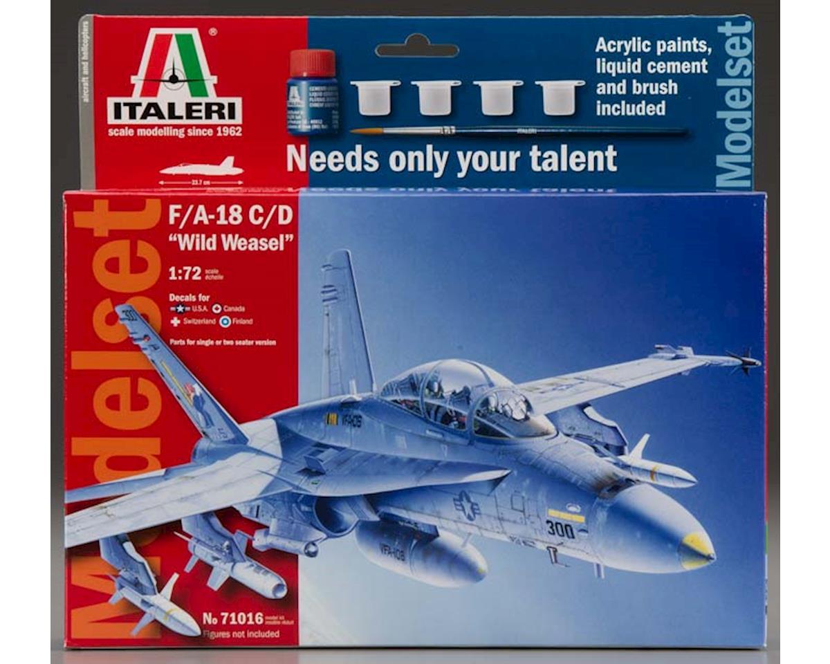 1/72 Model Set F/A-18 C/d Wild Weasel by Italeri Models