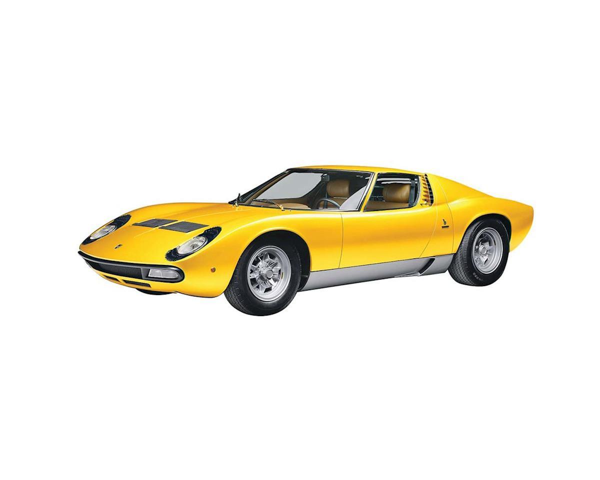 Italeri Models 1/24 Lamborghini Miura w/Sprue Cutter and Video