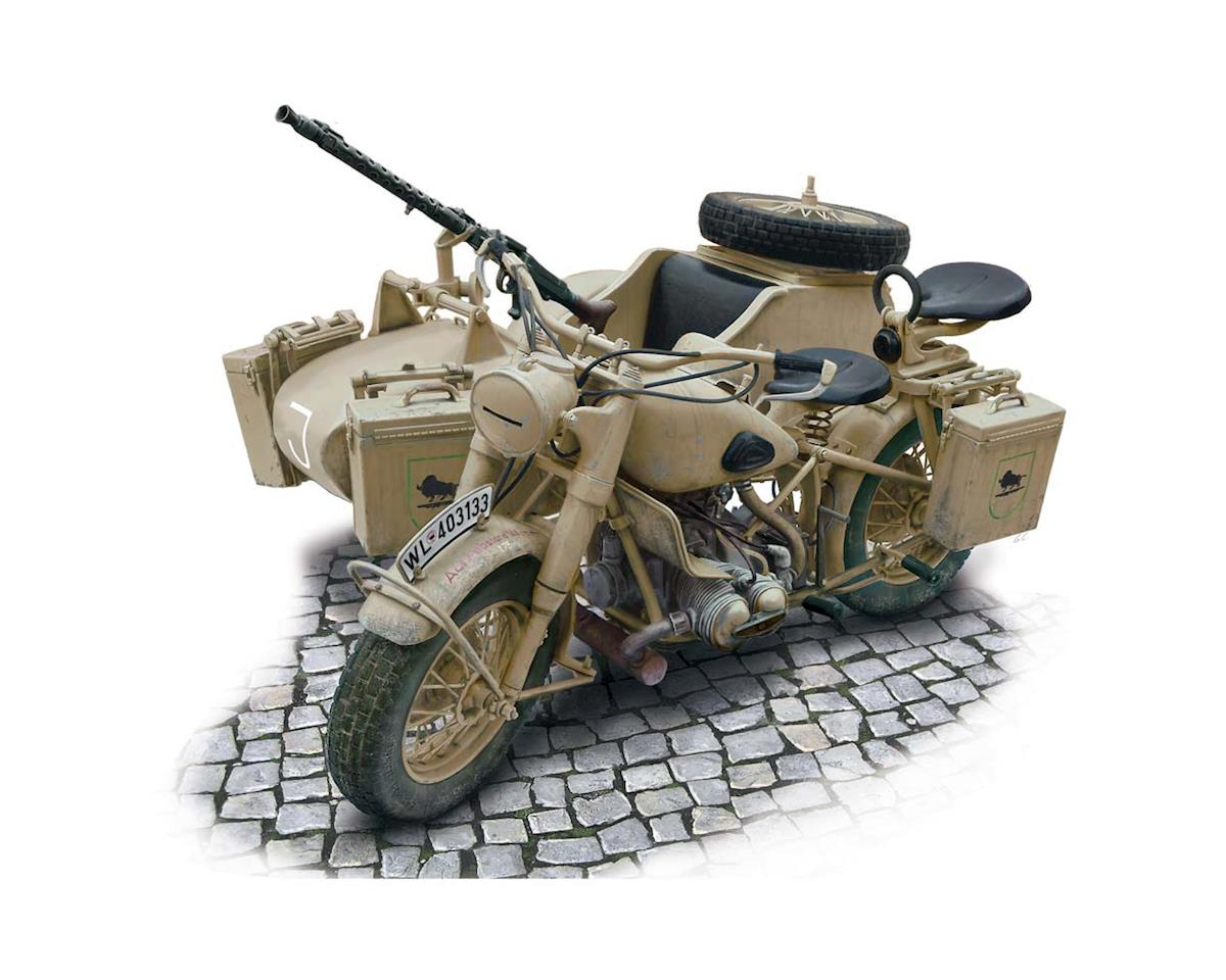 Italeri Models 1/9 BMW R75 German Military Motorcyle w/Sidecar
