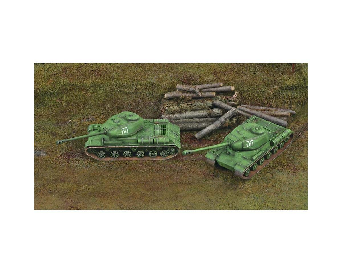 1/72 JS-2 Fast Assembly Tanks (2 Kits) by Italeri Models