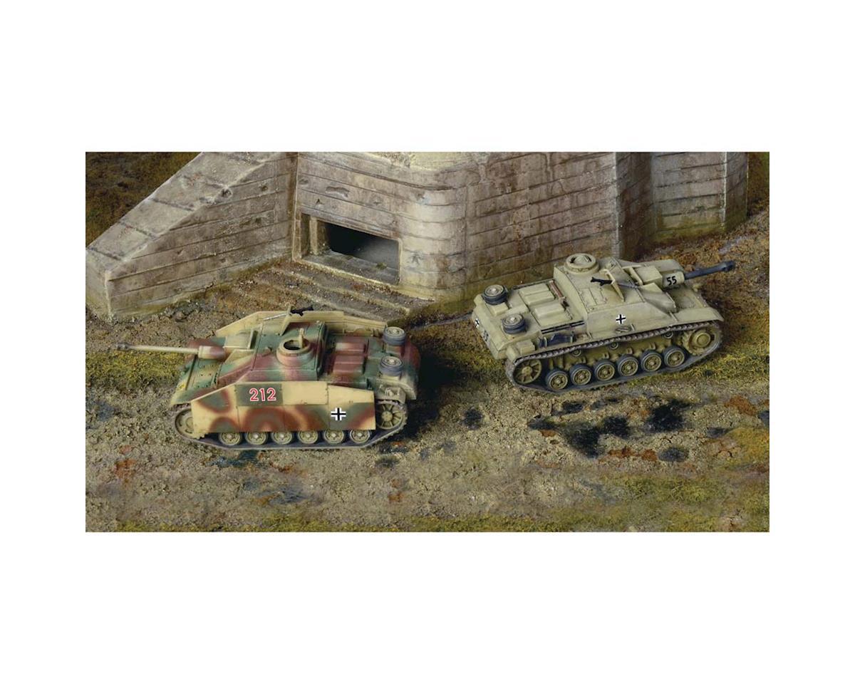 Italeri Models 1/72 Sd.Kfz 142/1 Sturmgesch III Tank (2 Kits)