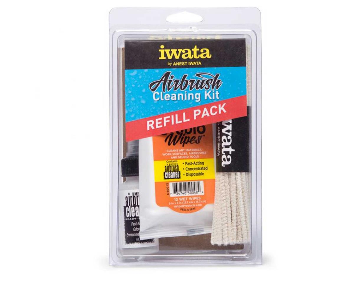 Iwata CL 150 Iwata Airbrush Cleaning Kit Refill Pack