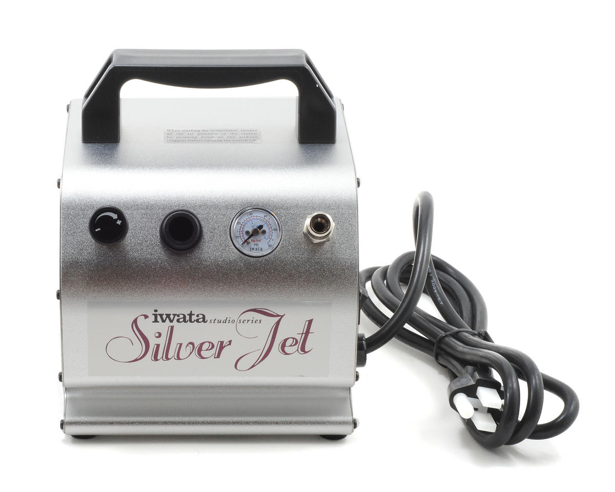 Silver Jet Air Compressor by Iwata
