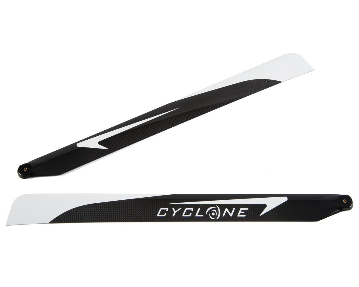 "J1S Designs ""Cyclone"" Carbon Fiber Flybarless Main Blade Set (505mm)"