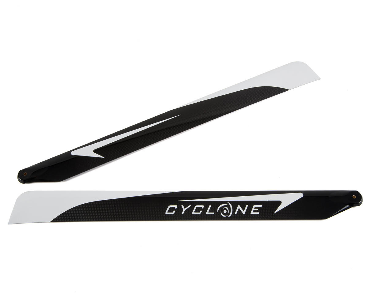 "J1S Designs ""Cyclone"" Carbon Fiber Flybarless Main Blade Set (615mm)"