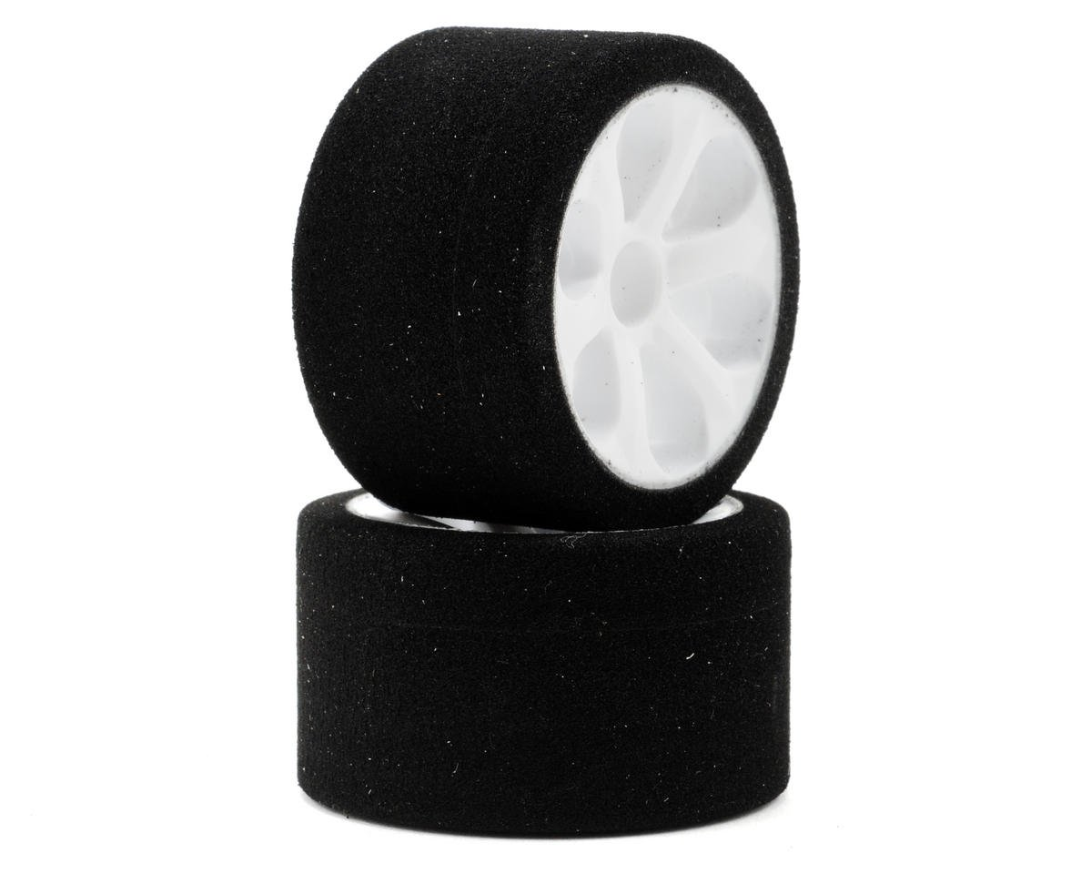 "Jaco ""Prism"" 1/12 Mounted Foam Front Tires (Black) (2)"