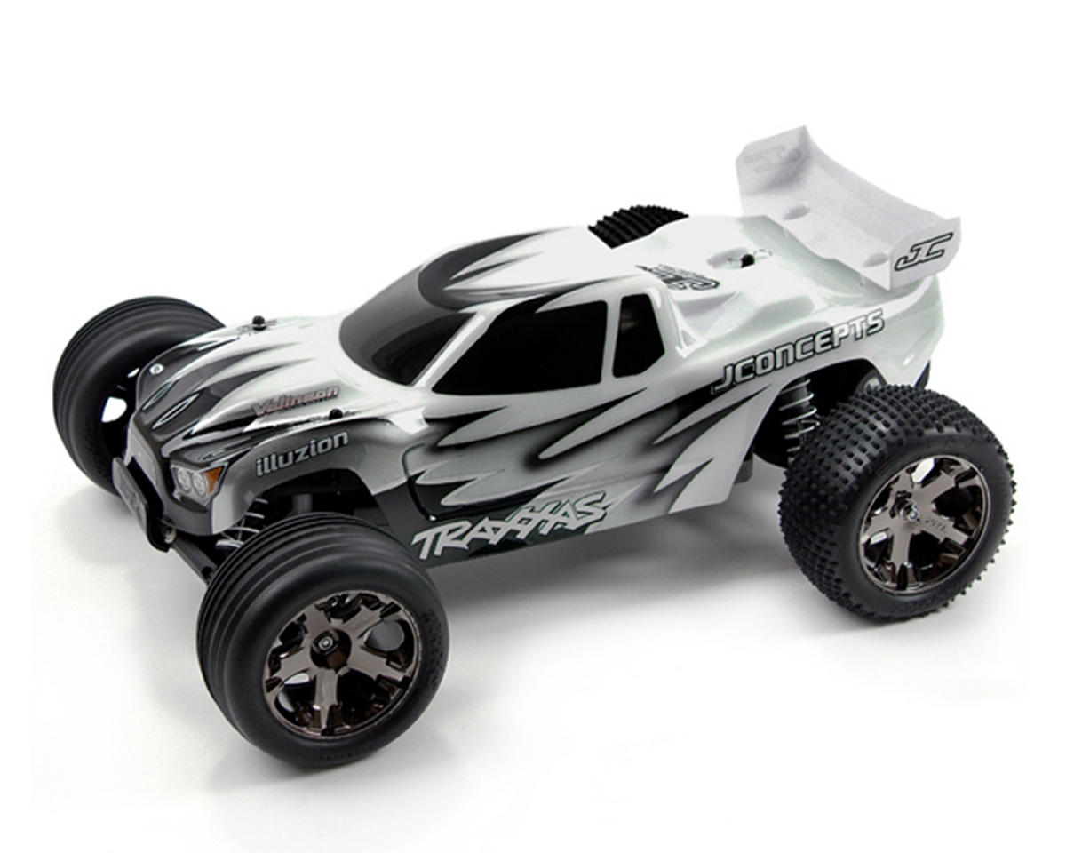 "JConcepts Traxxas Rustler VXL ""Hi-Speed"" Illuzion Body w/Wing"