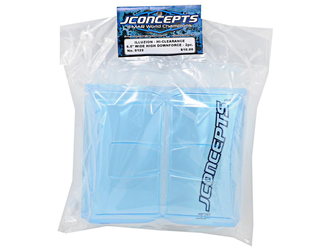 "JConcepts High Clearance Wing (6.5"" Wide) (2)"