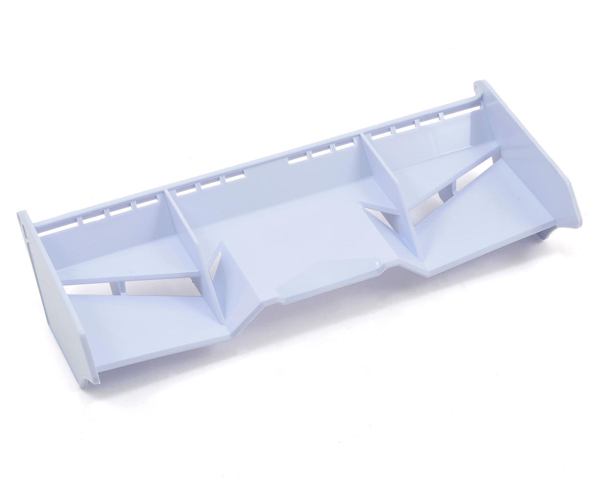 """Finnisher"" 1/8 Off Road Wing w/Gurney Options (White) by JConcepts"