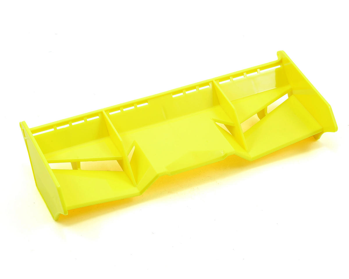 """Finnisher"" 1/8 Off Road Wing w/Gurney Options (Yellow) by JConcepts"