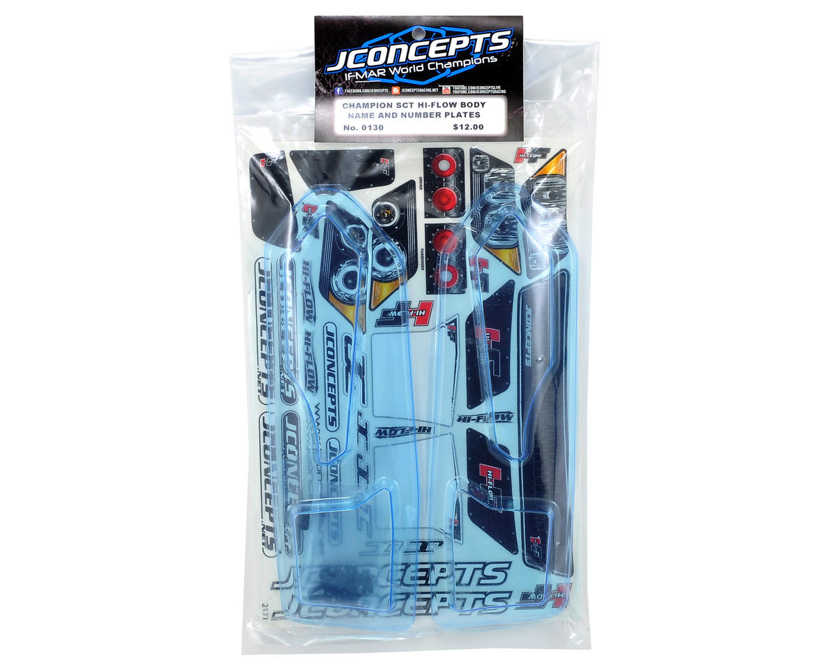 "JConcepts Illuzion ""Hi-Flow"" Number Plate Winglet Set"