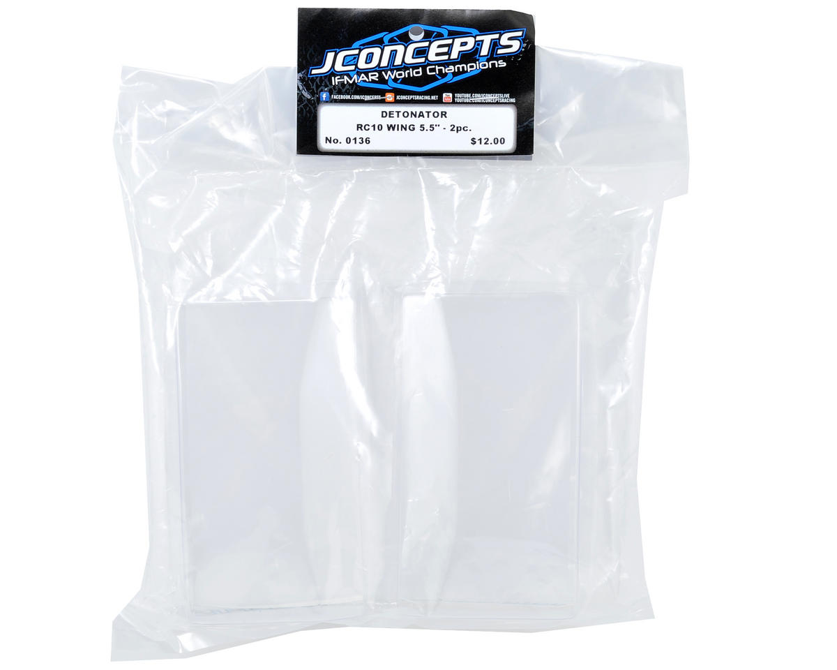 "JConcepts Hi-Clearance Wing (5.5"" Wide) (2)"