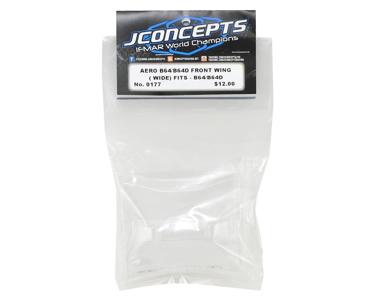 "JConcepts B64/B64D ""Aero"" Front Wing (Wide) (2)"