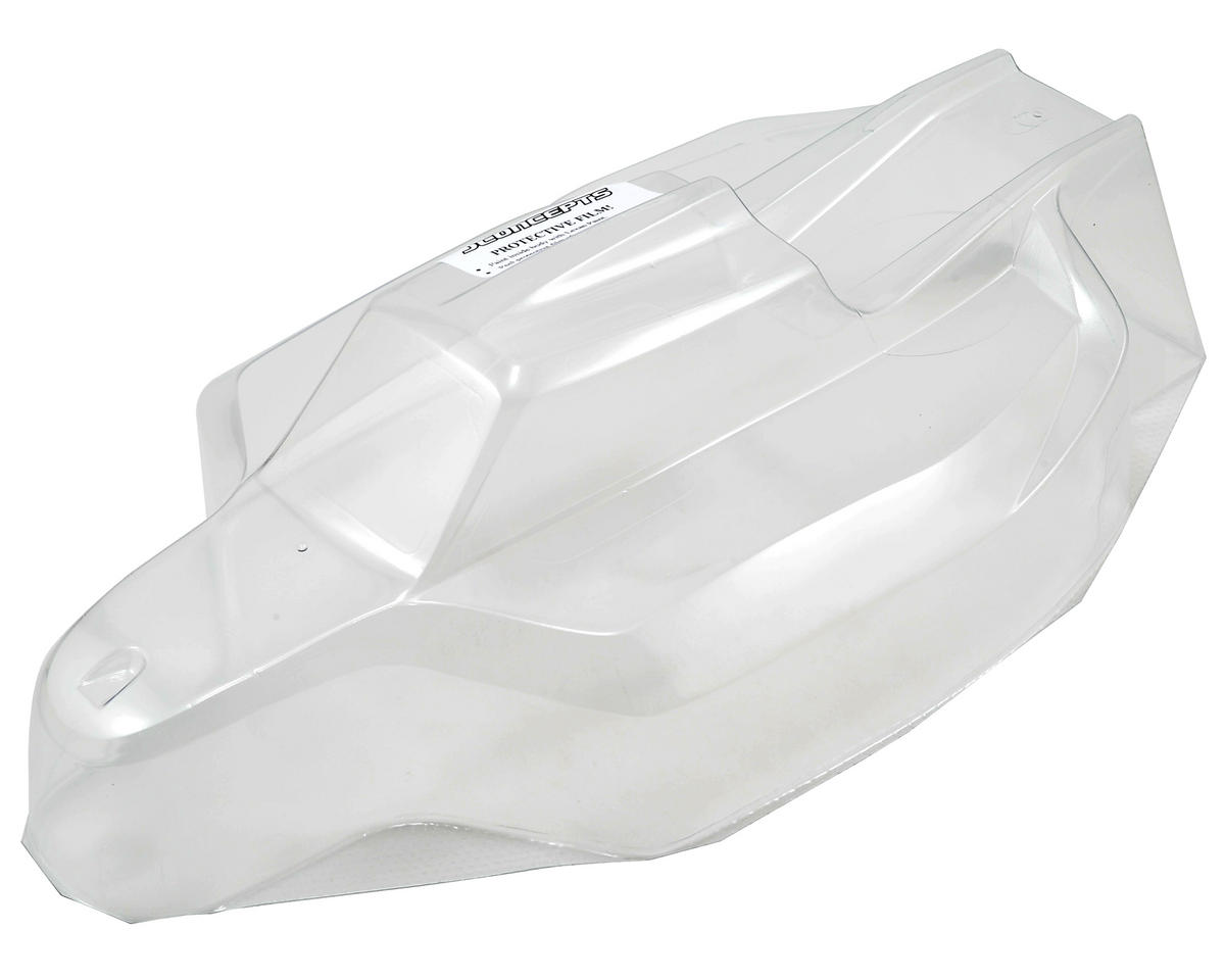"JConcepts Associated Team RC8.2 ""Silencer"" Body (Clear)"