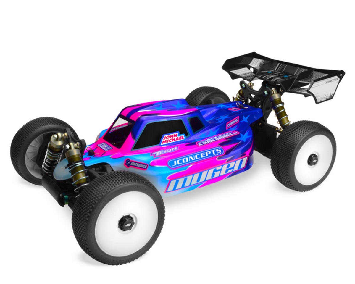 "JConcepts Mugen MBX7 ECO ""Silencer"" Body (Clear)"