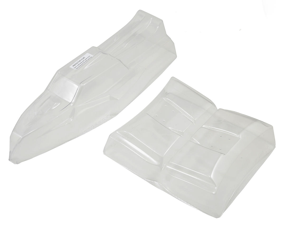 """JConcepts TLR 22 2.0 MM """"Silencer"""" Body w/6.5"""" Hi-Clearance Wing (Clear)"""