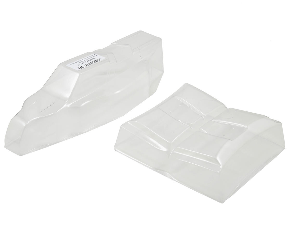 "B5M ""Finnisher"" Body w/6.5"" Hi-Clearance Wing (Clear) by JConcepts"
